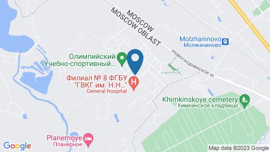 Hotel Monplaisir Map