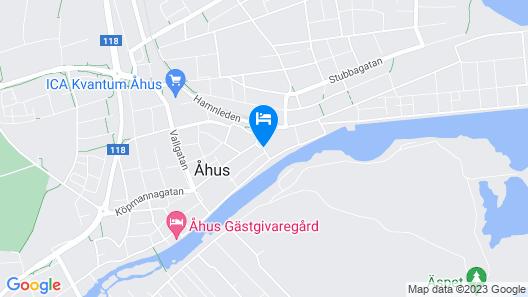Åhus Bed & Breakfast Map