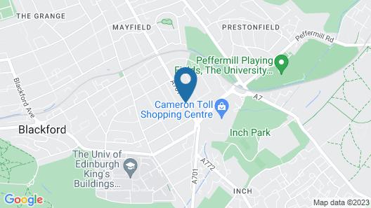 Northumberland Hotel Map