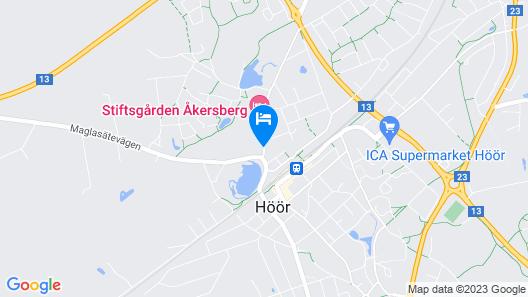Stiftsgården Åkersberg Map