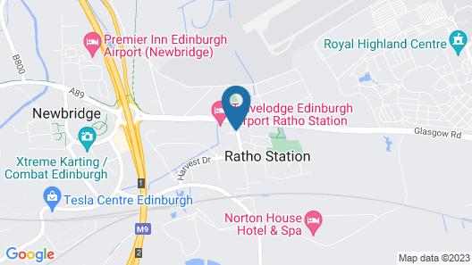 Travelodge Edinburgh Airport Ratho Station Map