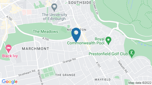 Destiny Student - Meadow Court (Campus Accommodation) Map
