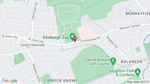 Holiday Inn Edinburgh Map