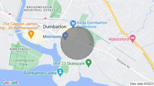 Dumbarton Castle Way Map