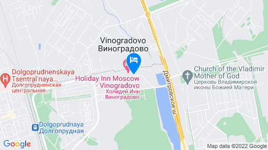 Holiday Inn Moscow Vinogradovo, an IHG Hotel Map