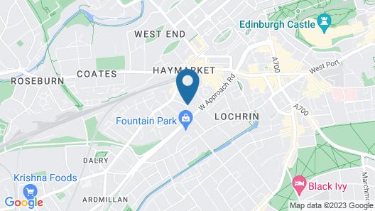 Edinburgh Church Apartments Map