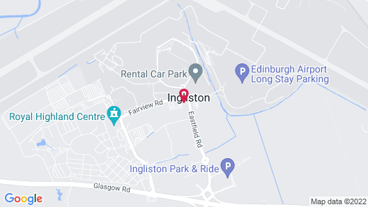 Moxy Edinburgh Airport Map