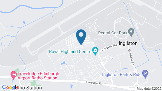 Holiday Inn Express Edinburgh Airport Map