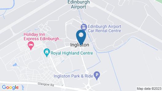 DoubleTree by Hilton Edinburgh Airport Map