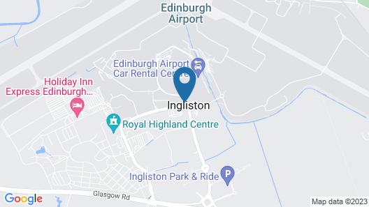 Hampton by Hilton Edinburgh Airport Map