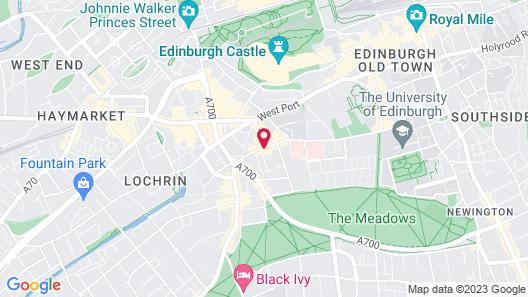 Leonardo Edinburgh City Map