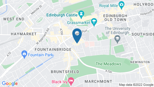 Leonardo Edinburgh City Map