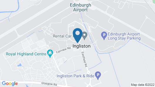Hampton by Hilton Edinburgh Airport Map