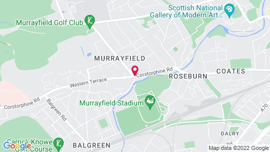Murrayfield Hotel Map