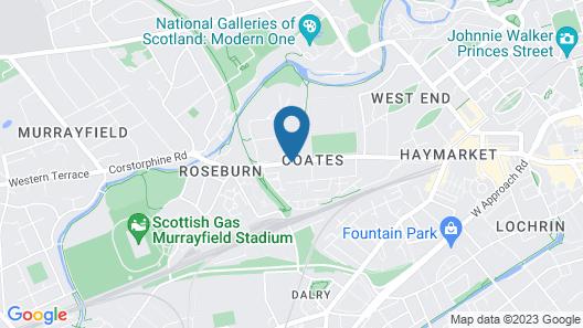 The Edinburgh Lodge Map