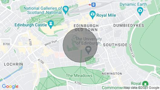 Guestready - Elegant 1bed Apartment in Old Town Edinburgh Map