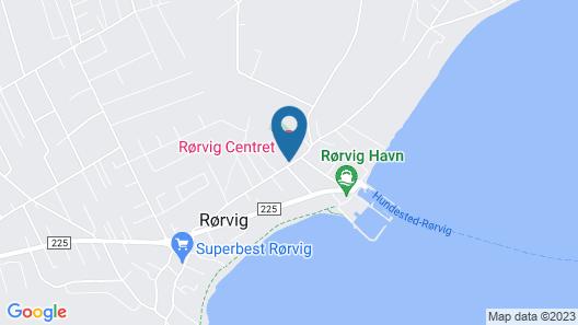 Rorvig Centret Map