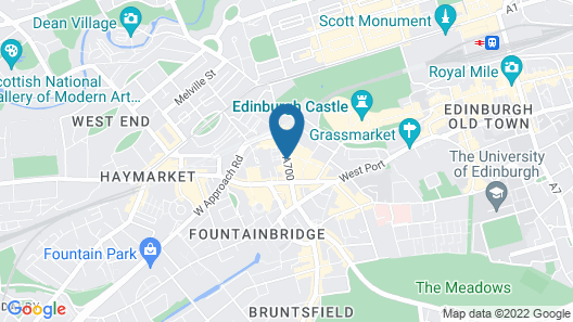 Sheraton Grand Hotel & Spa, Edinburgh Map