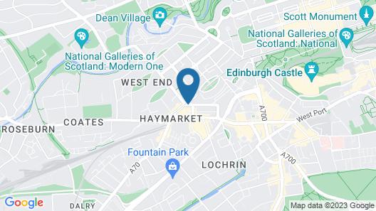 Haymarket Apartments Map
