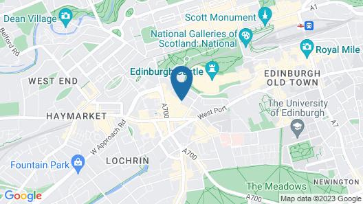 Edinburgh Nine Map