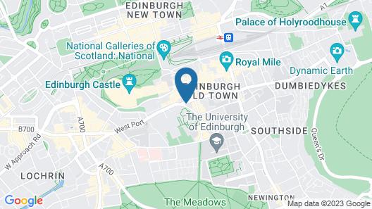 Kick Ass Greyfriars (18+ hostel) Map