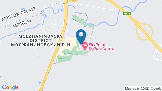 Sky Hostel Sheremetyevo Map