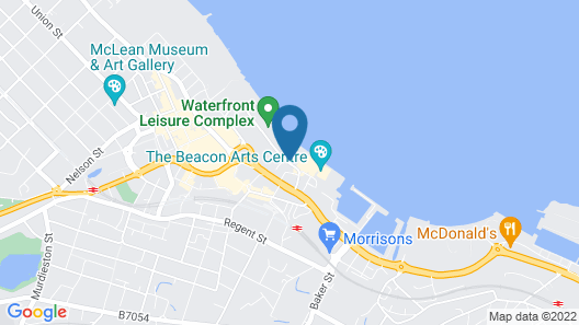 Greenock Hall's Waterfront Complex Map