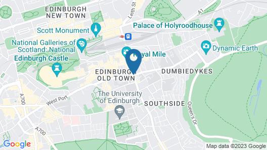 ibis Edinburgh Centre South Bridge - Royal Mile Map