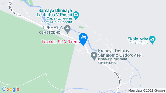 Takmak SPA Hotel Map