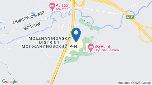 Sheraton Moscow Sheremetyevo Airport Hotel Map