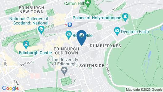 Holiday Inn Express Edinburgh Royal Mile Map