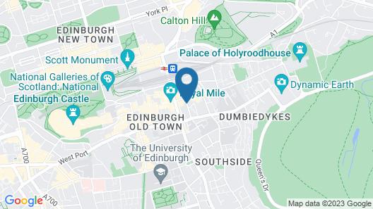High Street Hostel Map