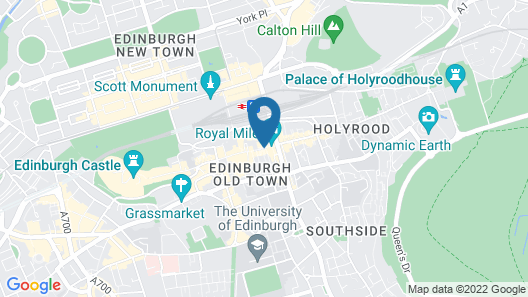 Stay Edinburgh City Apartments Map