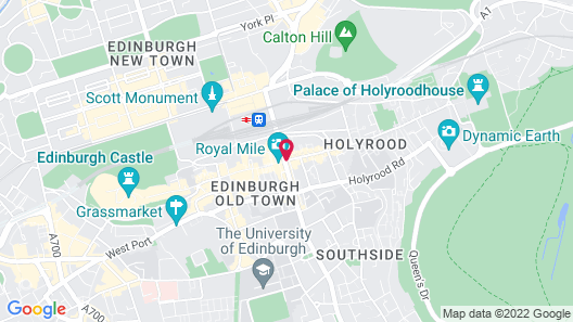 The Inn On The Mile Map
