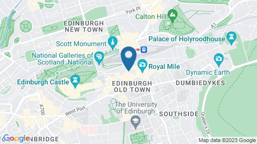 CoDE Pod  – The CoURT - Edinburgh Map
