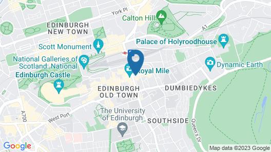 Radisson Blu Hotel, Edinburgh City Centre Map