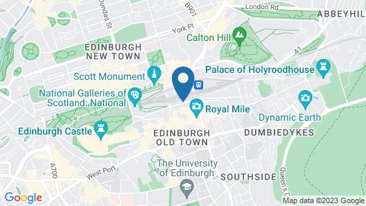 St. Christopher's Inn Edinburgh - Hostel Map