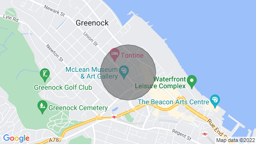The Warwick Apartment Map