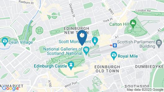 Destiny Scotland Hanover Apartments Map