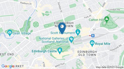 CoDE Co-Living - THE LoFT - Edinburgh Map