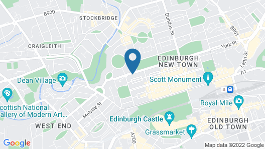 Mode Edinburgh Map