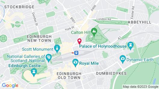 Princes Street Suites Map