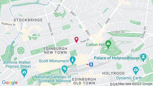 Ballantrae Hotel Map