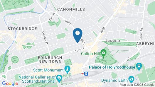 Ballantrae Albany Hotel Map