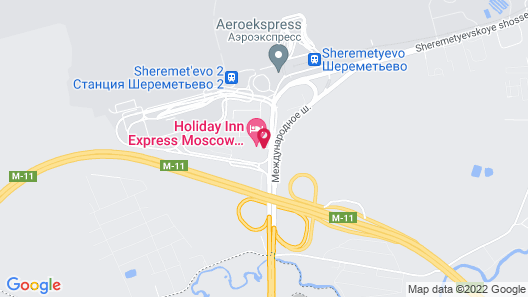 Holiday Inn Express Moscow - Sheremetyevo Airport Map
