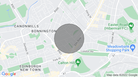 2 Bedroom Apartment in City Centre Map