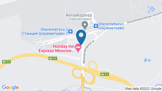 Park Inn by Radisson Sheremetyevo Airport Moscow Map