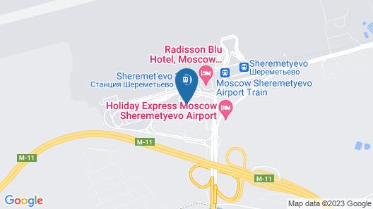 Hostel Russian Sky Map
