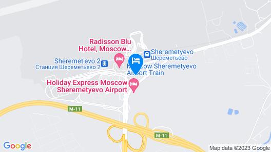 Novotel Moscow Sheremetyevo Airport Map
