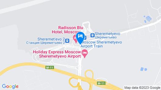 GoSleep.Moscow Map